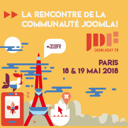 Joomladay 2018 France in Paris
